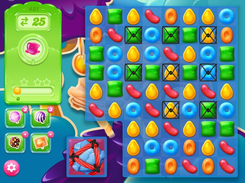 Candy Crush Jelly Saga 421