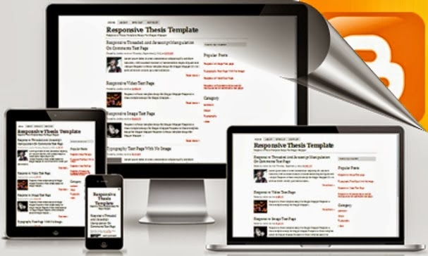 Thesis SEO Responsive Blogger Template