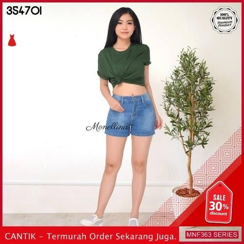MNF363J142 Jeans 354701 Wanita Hotpants Denim Jeans Pendek 2019 BMGShop