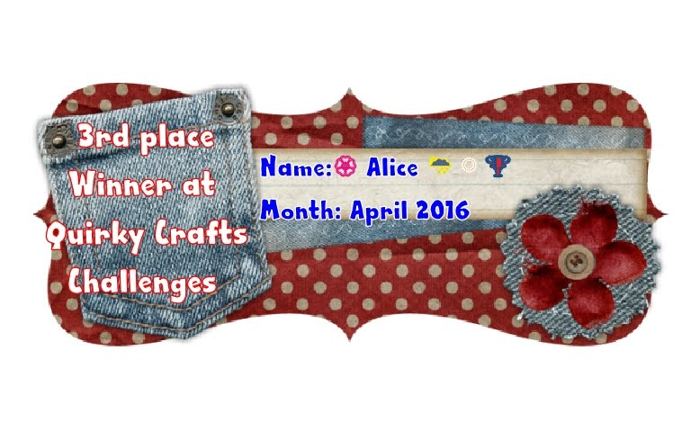Top3 al Quirky Craft Challenge
