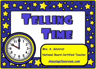 Smart Notebook Lesson on Telling Time!   Amazing Classroom Blog
