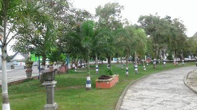 fhoto taman kota baturaja