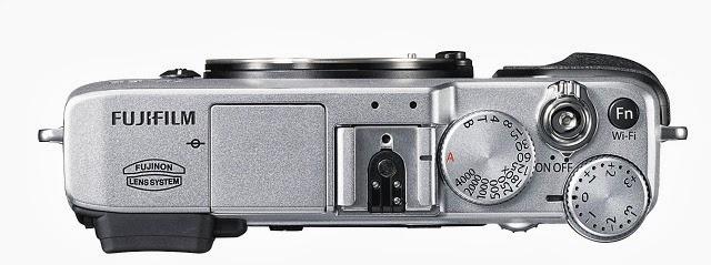 La calotta superiore della Fujifilm X-E2
