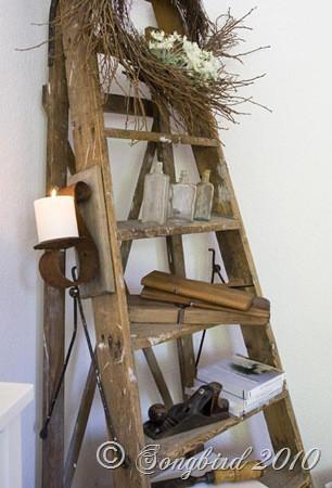 Saleena Diy Vintage Ladder Part 1