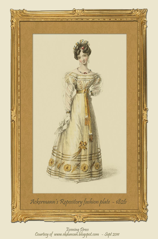 Ekduncan My Fanciful Muse Regency Era Fashions