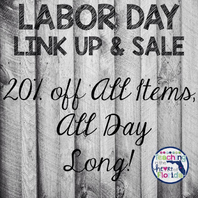 Labor Day Link Up & Sale