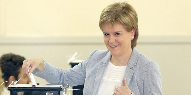 Scotland's first minister Nicola Sturgeon: Second Scottish independence vote 'highly likely'