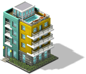 res gym pool apartment SW - Material CityVille: Novo sistema de monotrilho