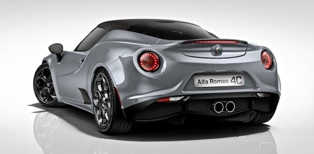 アルファロメオ4C/4Cスパイダー 107th Edition 限定車