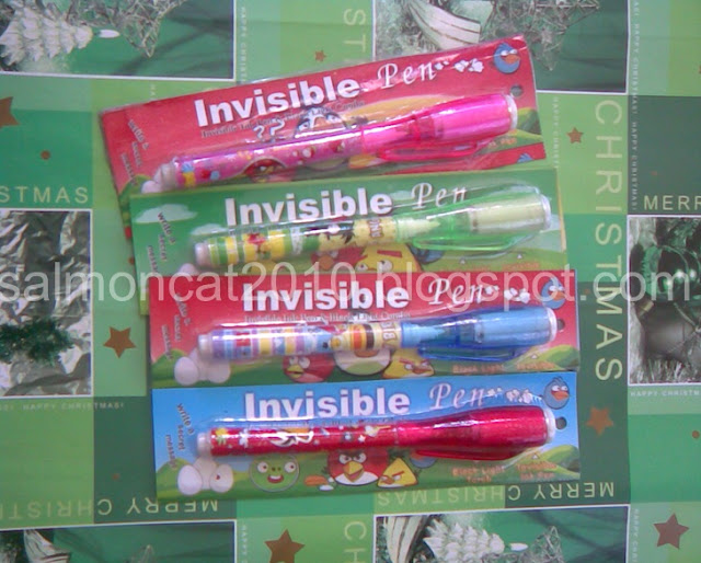 pens with invisible ink