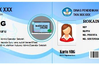 Download Aplikasi Cetak Kartu NRG 2018