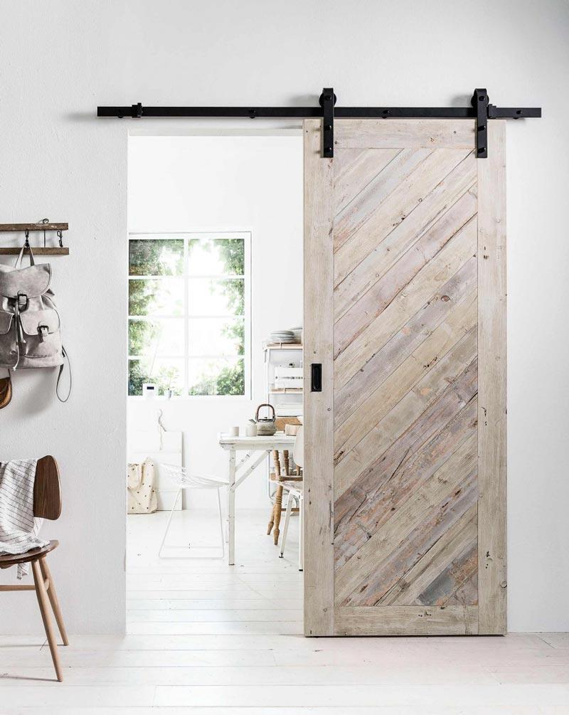 porta scorrevole fai da te in legno