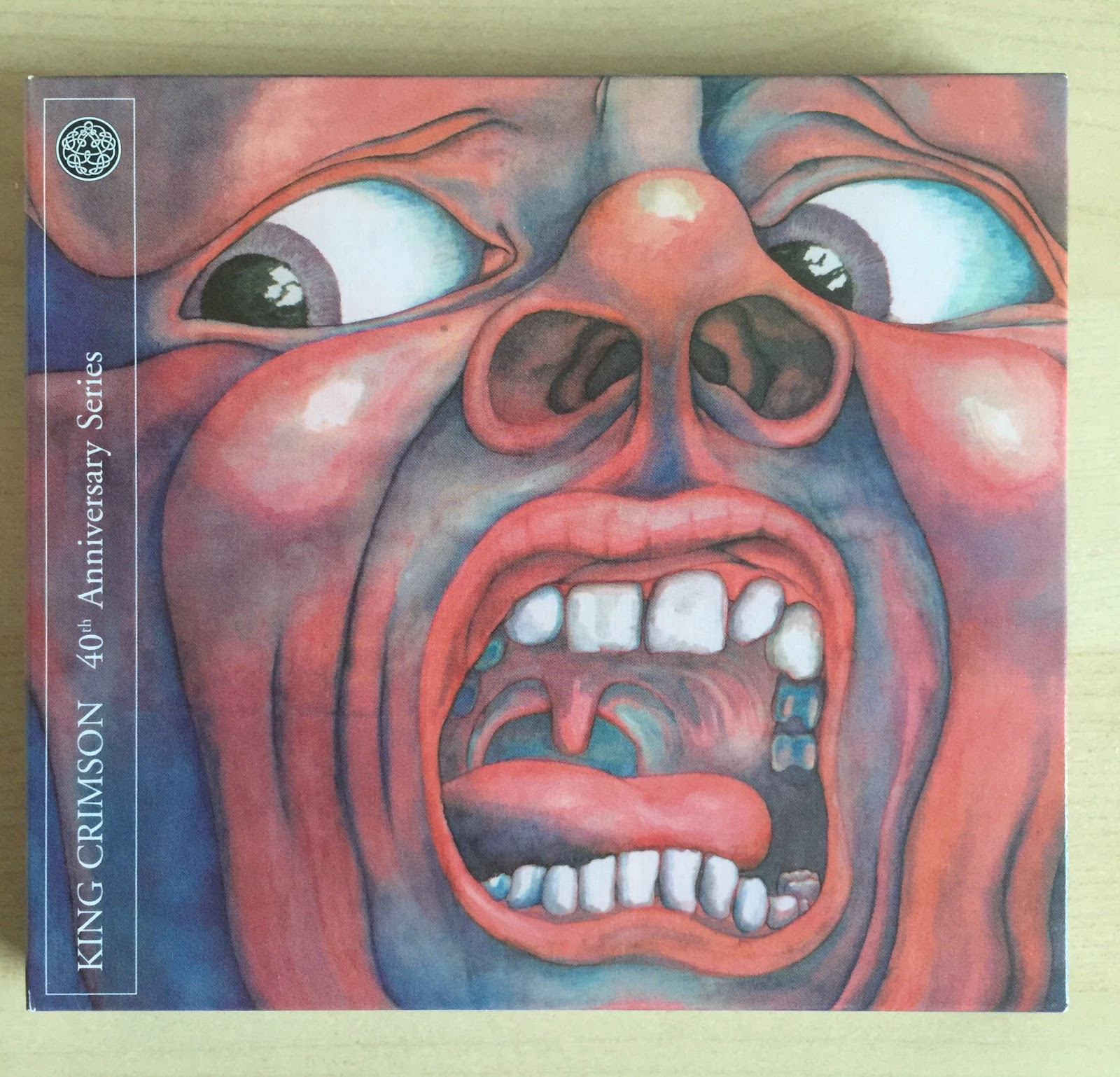 Sounds Good Looks In The Court Of Crimson King 40th Dr Kevin Soft Ampamp Comfortable Men Slip On 9307 Grey Anniversary Series By October 2009 Panegyric Cd And Dvd A Reissue Robert Fripp Steve Wilson