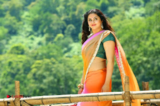 Actress Namitha Stills in Saree from Pulimurugan  0004.jpg