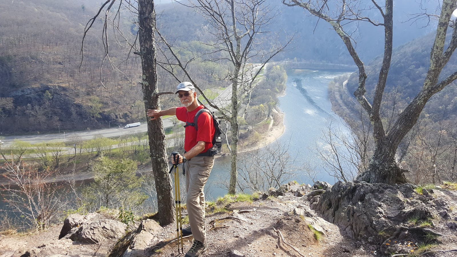 At Section Hiking Delaware Water Gap To Wind Gap Southbound