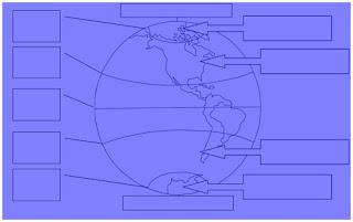 Prova de Geografia 6º ano - 2º bimestre - www.professorjunioronline.com