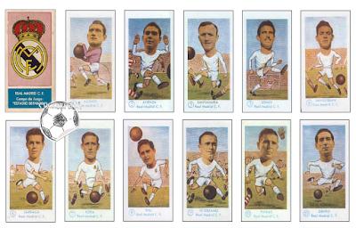 Real Madrid cromo futbol spain