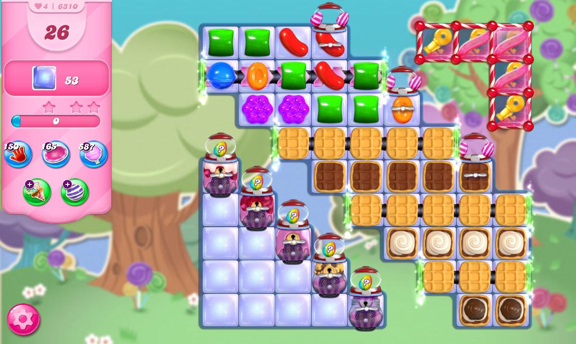 Candy Crush Saga level 6310