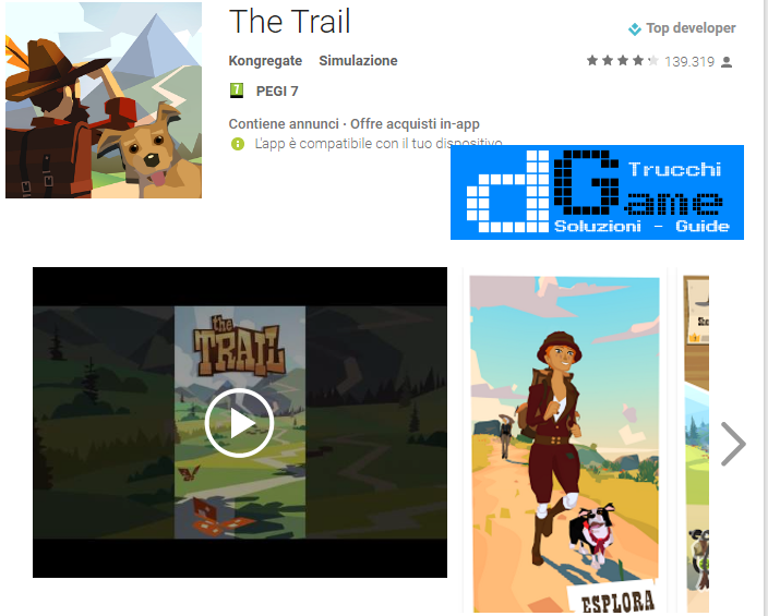 Trucchi The Trail Mod Apk Android v6997