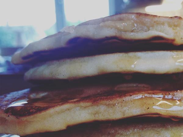 Bank holiday pancakes