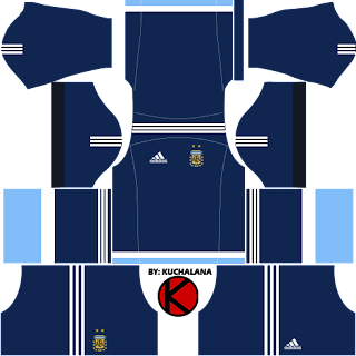 Argentina Kits 2017 -  Dream League Soccer