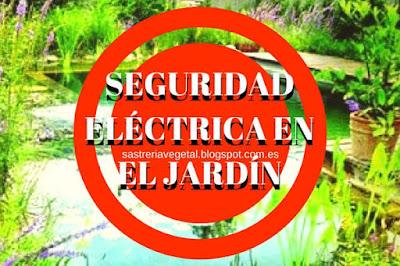 La seguridad en las instalaciones eléctricas en el jardin sobre todo en bombas y luces en piscinas ecológicas