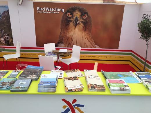 Turisme Comunitat Valenciana asiste por tercer año consecutivo, a la principal feria internacional dedicada al turismo ornitológico: la 'British Birdwatching Fair' (BBF), en el Reino Unido