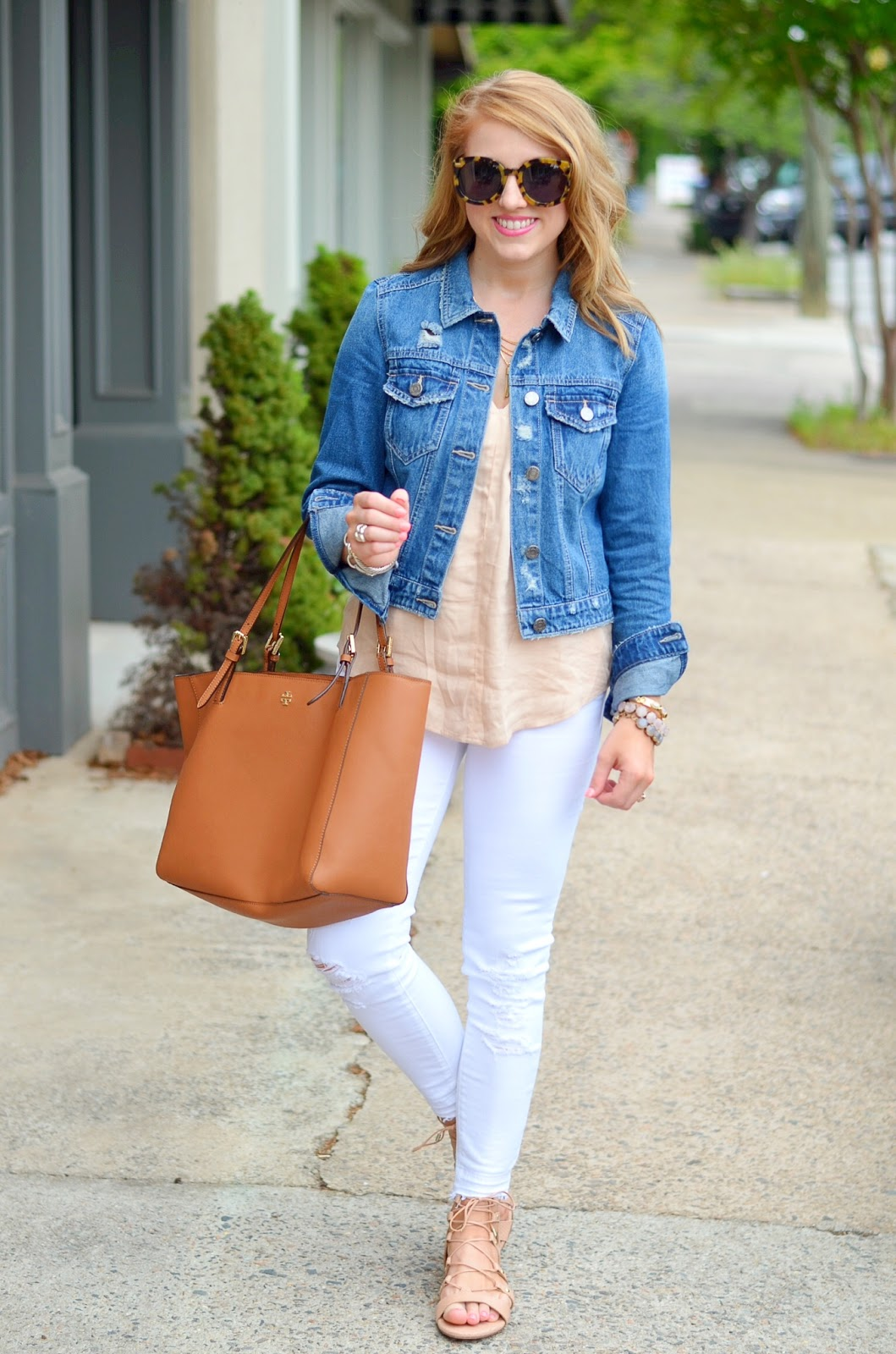 3427cfdab0604d Something Delightful   Blush   Denim + The Tory Burch Spring Sale
