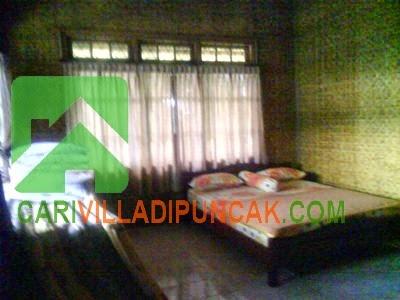 Kamar Tidur utama Villa