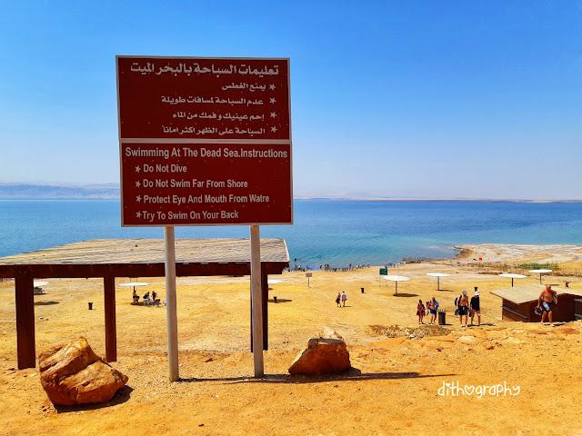 laut mati yordania