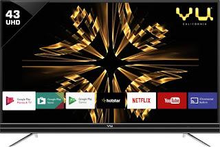 Vu 109 cm (43 inch) Ultra HD (4K) LED Smart TV (43SU128)