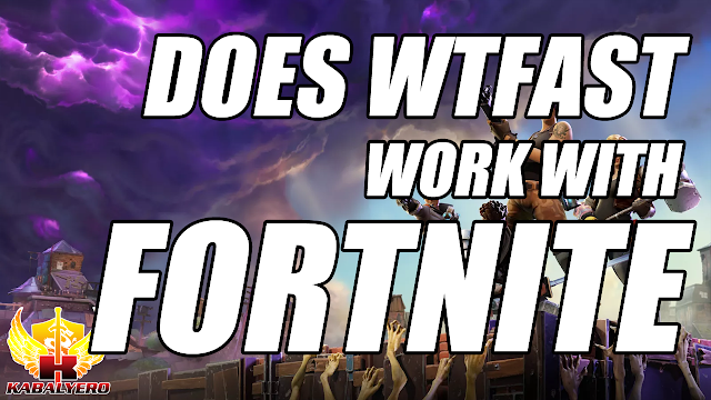 Fortnite Battle Royale, Does It Work With WTFast? 100% Improvement?