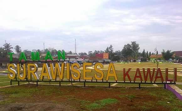 Taman Surawisesa Kawali Ciamis