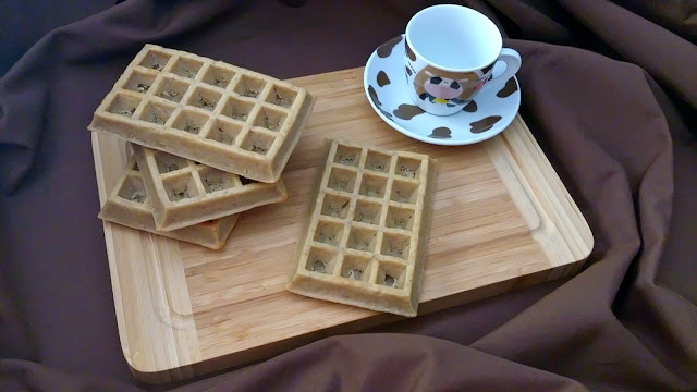 gofre wafle horno molde lidl calabaza otoño integral integrales fit healthy sanos saludables canela