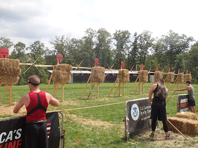 Spartan Race Spear Throw