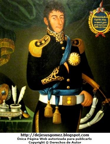 Retrato de José de San Martín, pintura de José de San Martín. Foto de José de San Martín tomada por Jesus Gómez