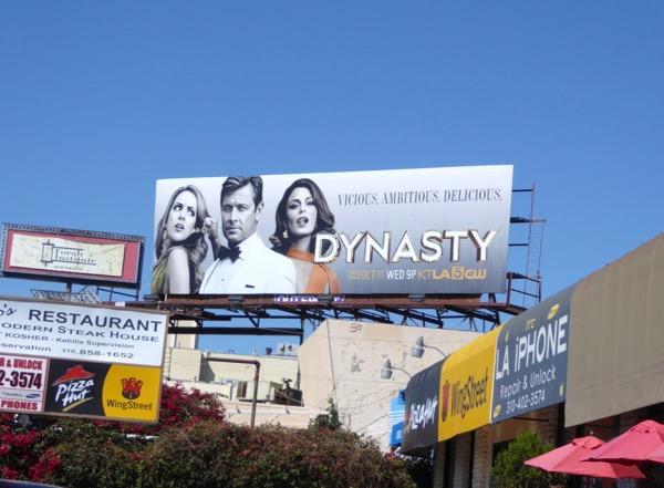 Dynasty CW series billboard