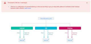 """Dynamic Link not found""のメッセージが出てFirebaseの短縮URLが開けない時の対処法"