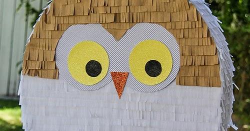 My Owl Barn Diy Owl Pinata