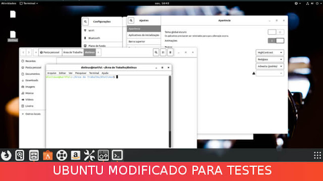 Ubuntu modificado para ser resetado