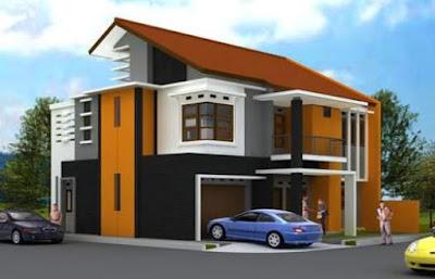 Denah Atap Rumah Minimalis 1 & 2 Lantai Terbaru