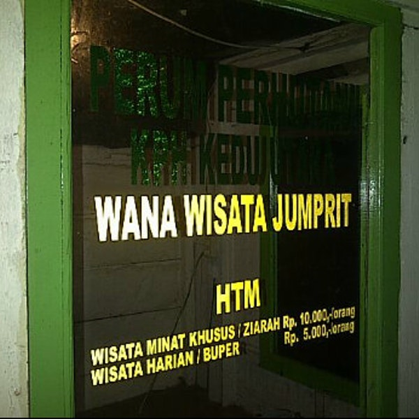 tiket masuk jumprit | Karcis masuk jumprit | htm Jumprit | Tiket