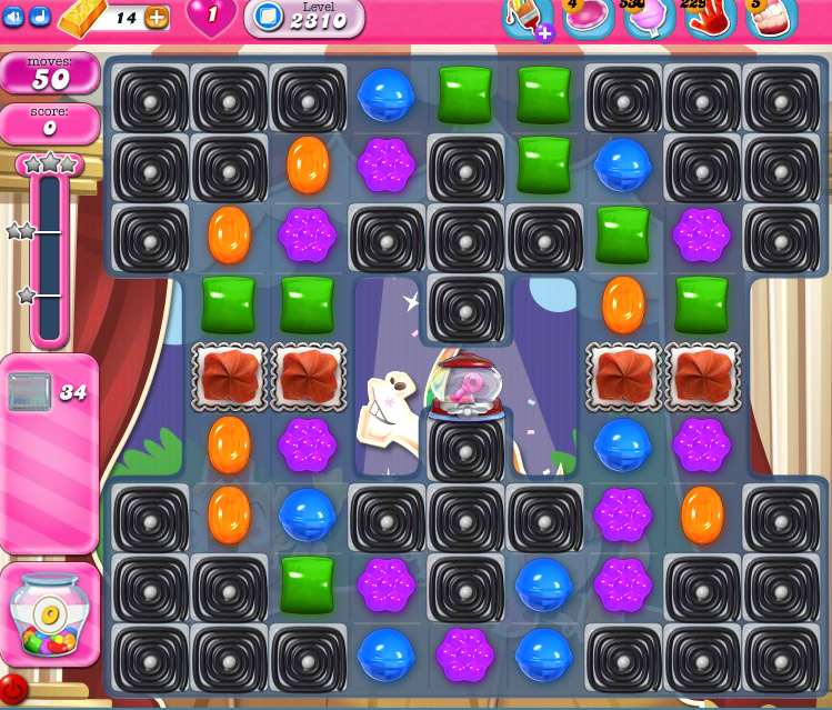 Candy Crush Saga level 2310