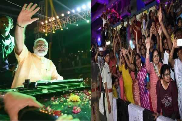 taja-news-prime-minister-narendra-modi-welcome-in-surat-road-show