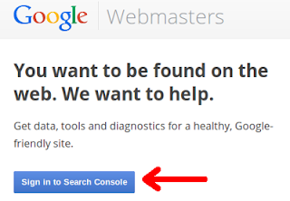 Halaman Depan Google Webmaster