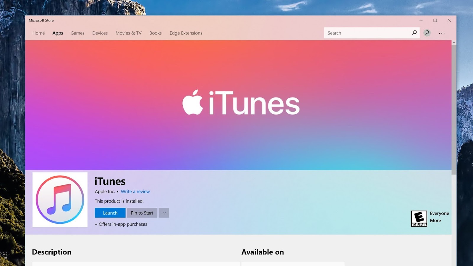 apple itunes windows 10 download