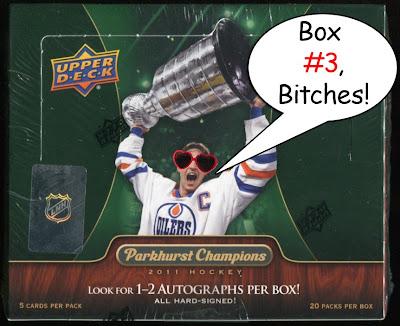 2011-12 Parkhurst Champions box break #3