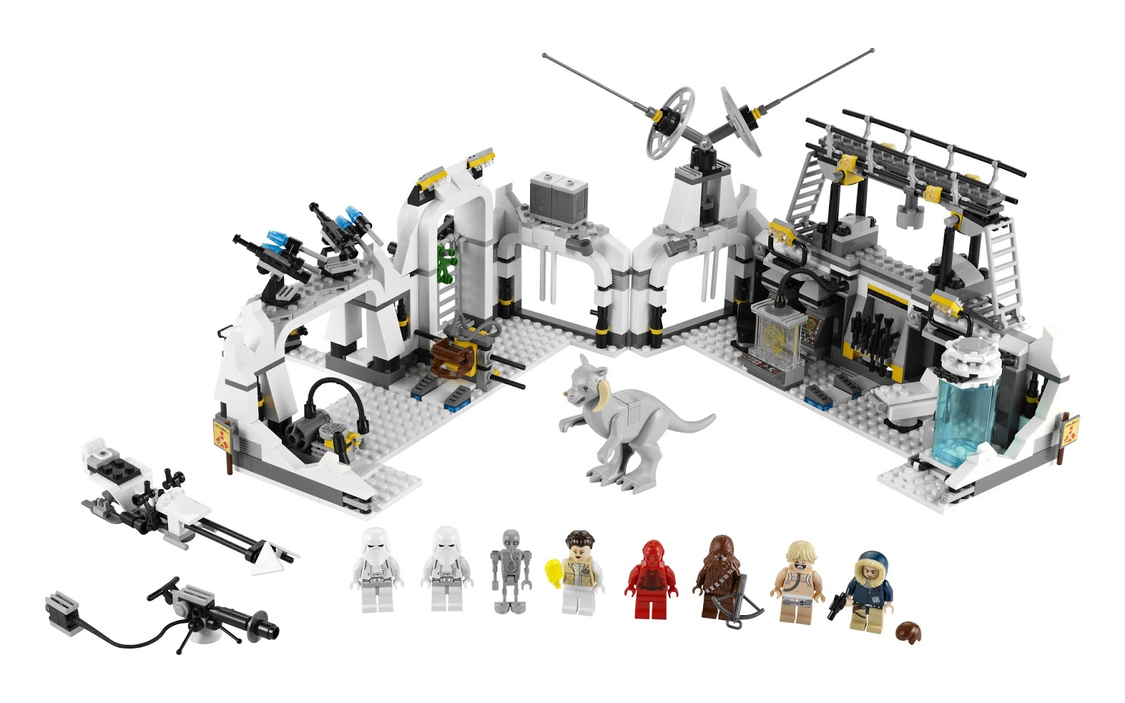 all about bricks quick reaction lego star wars assault on hoth 75098. Black Bedroom Furniture Sets. Home Design Ideas