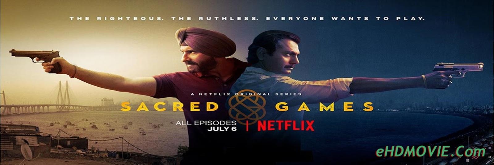 Sacred Games S01 Complete Dual Audio 720p HDRip [Hindi – English] ESubs
