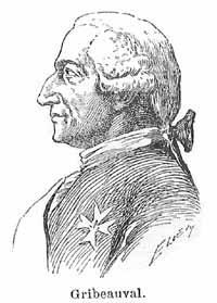 Histoire du boulet de canon Gribeauval